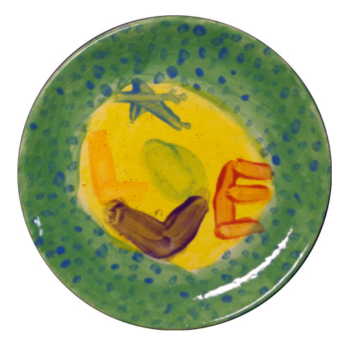 The 2014 winning plate