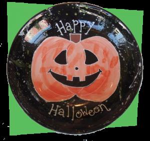 Halloween Candy Bowl - After Firing
